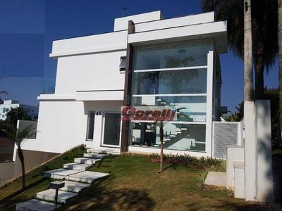 Casa Com 3 Dormitórios À Venda, 321 M² Por R$ 1.700.000 - Condomínio Arujazinho Iv - Arujá/sp - Ca1058
