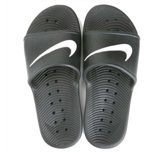 Sandália Nike Kawa Shower Masculina - Azul Ou Preta
