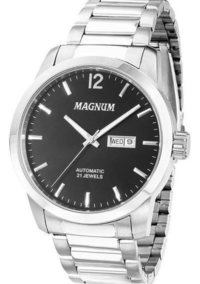 Relógio Magnum Automático Masculino Ma33835t