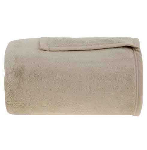 Cobertor King Size Em Microfibra Aspen Marfim - Buddemeyer