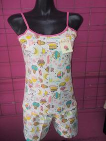 Pijama Short Tirante Dama Todas Las Tallas