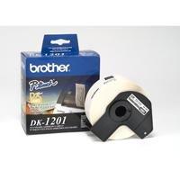 Etiqueta Pre Cortada Brother Dk1201 29 Mm X 90 Mm 400 Etique