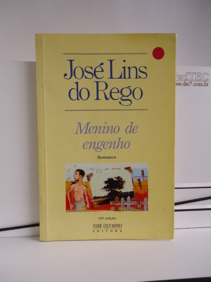 Livro Menino De Engenho José Lins Do Rego