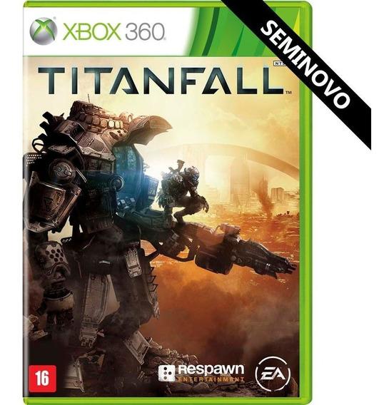 Jogo Titanfall Xbox 360 X360 Português Usado