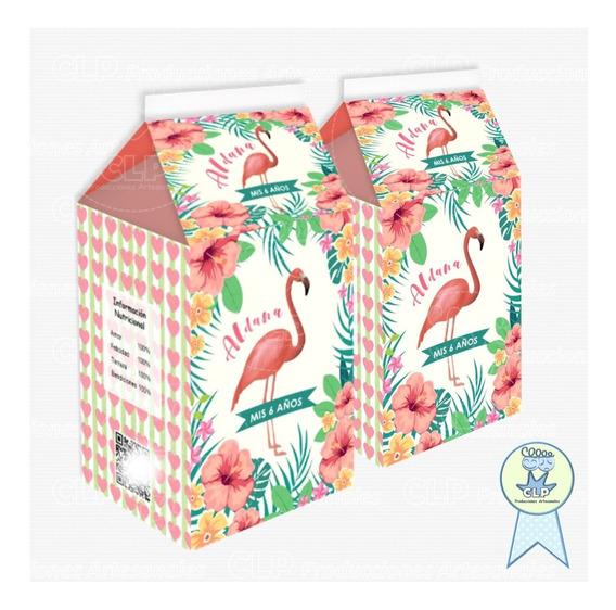 Milk Box Cajitas Golosineras Personalizadas X 20