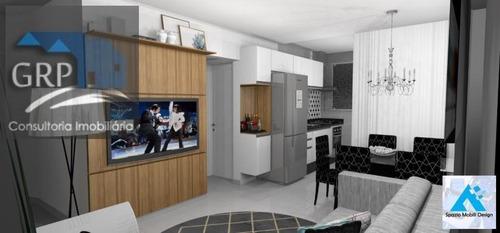 Imagem 1 de 15 de Apartamento Sem Condomínio Para Venda Em Santo André, Vila Bastos, 2 Dormitórios, 2 Suítes, 3 Banheiros, 1 Vaga - 6804_1-1435523