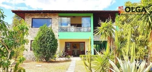 Casa Com 4 Dormitórios À Venda, 245 M² Por R$ 650.000,00 - Gravatá - Sairé/pe - Ca0582