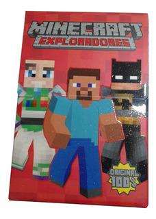 Cartas Minecraft Exploradores - Caja
