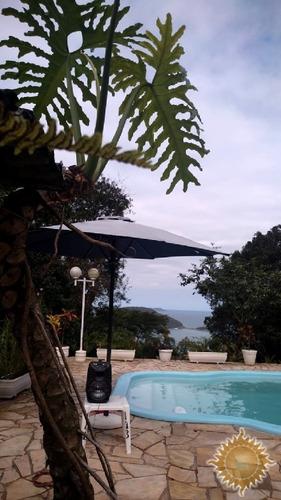 Imagem 1 de 2 de Área De 8.000 M²  Com Uma Casa Com Piscina Com Linda Vista Pro Mar !!! - 13272