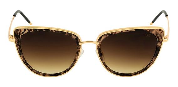 Óculos De Sol Feminino Sabrina Sato - Gatinho Degradê