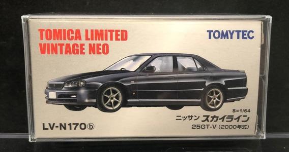 Tomica Limited Vintage Neo Nissan Skyline 25gt-v N Kyosho