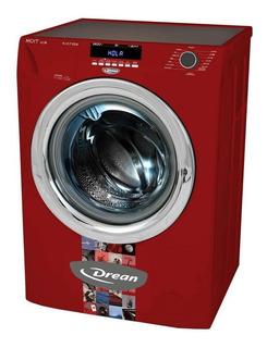 Lavarropas automático Drean Next 8.14 P ECO rojo 8kg 220V