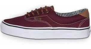Vans Era 59 Color Bordo 100 % Originales