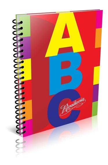 Cuaderno Rivadavia Abc Espiralado 100h Cuadriculado