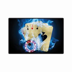Quadro Placa Mdf Decoração - Imagens - Poker Stars 5040