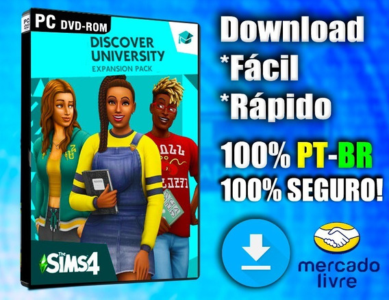 The Sims 4 - Pc - Completo Com Todas As Dlcs - 100% Pt-br!