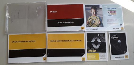 Literatura De Bordo Do Renault Sandero 2014/2015 #2302