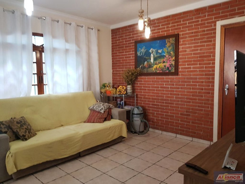 Sobrado Para Venda No Bairro Jardim Nazaret Em Guarulhos - Cod: Ai21738 - Ai21738