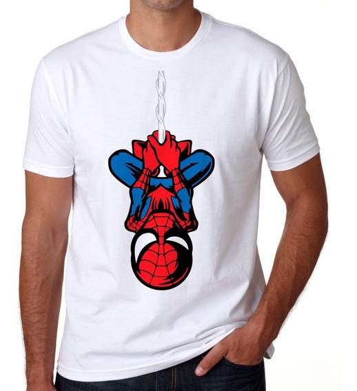 Playera Hombre Araña Spiderman Token Marvel Comics Telaraña