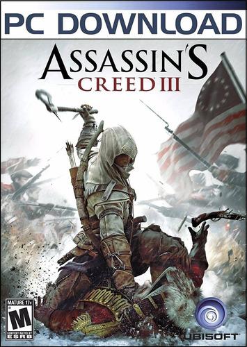 Assassin's Creed 3 Ill Juego Pc Original + Español + Online