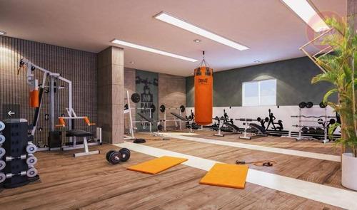 Apartamento À Venda, 47 M² Por R$ 207.000,00 - Planalto Bela Vista - São Vicente/sp - Ap4247