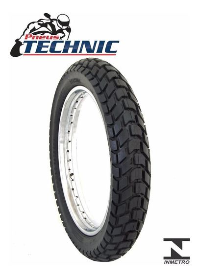 Pneu Moto Technic 90/90-21 T&c Falcon/tornado/xre Dianteiro