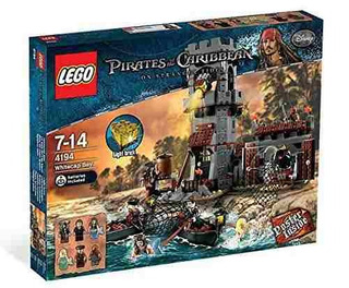 Lego Disney Piratas Del Caribe Whitecap Bay (4194)!