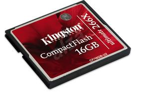 Cartão Compact Flash Kingston 16gb 266x Ultimate