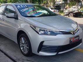Toyota Corolla 2018 Gli Upper Automático 30.000 Km Top