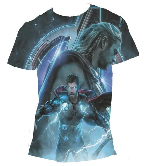 Camisa Avengers Camiseta Ultimato Thor Vingadores Endgame 02