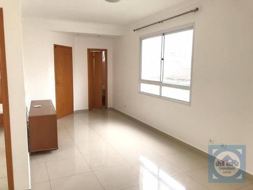 Apartamento Com 3 Dormitórios Para Alugar, 106 M² Por R$ 5.500,00/mês - Boqueirão - Santos/sp - Ap5668