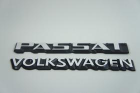 Kit Emblemas Volkswagen E Passat 83 À 90 + Brinde