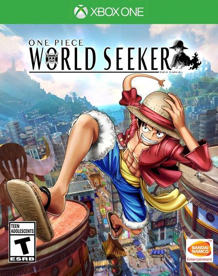 One Piece World Seeker Xbox One Mídia Fisica
