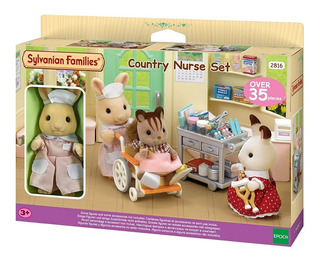 Sylvanian Families Conjunto Enfermeria 5094 Educando Full