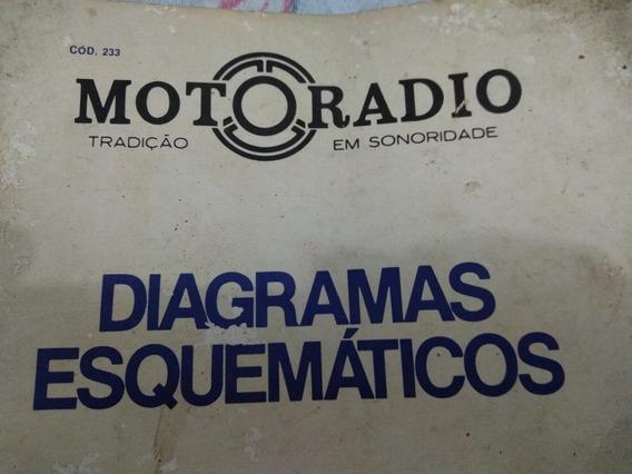 Esquema Eletrico Diagrama Motoradio Rcf-m42 Rcfm42