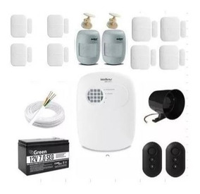 Kit Central De Alarme Anm3004st Residencial - Intelbras
