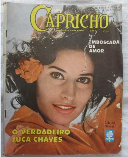 Revista Antiga Capricho Nº 116 De Outubro De 1961 Rara - A53