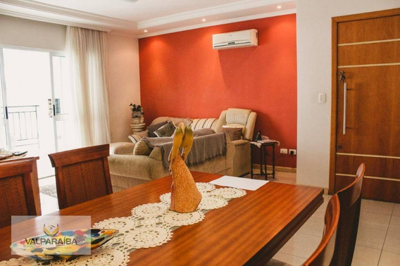Apartamento Com 4 Dormitórios À Venda, 133 M² Por R$ 795.000 - Jardim Aquarius - São José Dos Campos/sp - Ap0423