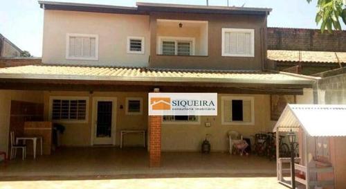 Casa Residencial À Venda, Wanel Ville, Sorocaba. - Ca0626