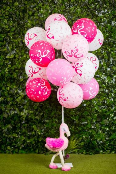 Kit Suporte P/balão/efeito Gás Hélio 2 Pç P15 + 2 Pç 8 Balão
