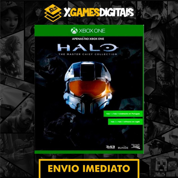 Halo The Master Chief Xbox One Midia Digital + 1 Jogo Brinde