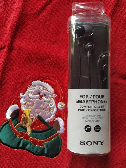 Oferta Audífonos Sony Originales Mdr Ex14ap (de 20 A 10v)