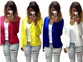 Kit 10 Blazers Casaco Jaqueta Terninhos Femininos