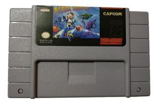Megamann X Para Snes Re-proo