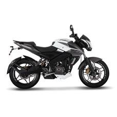 Moto Bajaj Rouser Ns 200 Naked Blanca 0km Financiacion