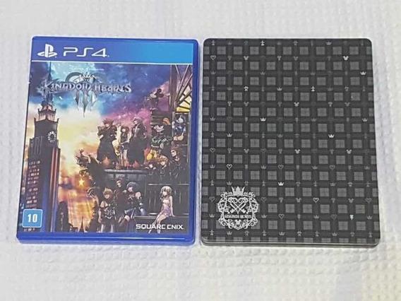Kingdom Hearts Jogo Ps4 Steelbook Edition