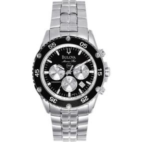 Relógio Bulova Marine Star Wb30686t Prata