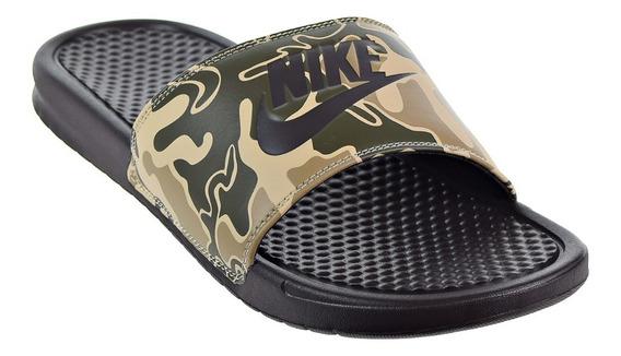 Ojotas Nike Benassi Hombre Camufladas