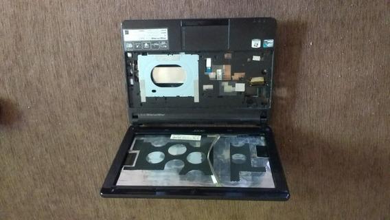 Carcaca Completa Acer D257 Com Cabo Flat Da Tela