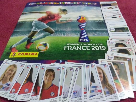 Álbum Copa Do Mundo Feminina 2019 + 50 Figurinhas S/repetir